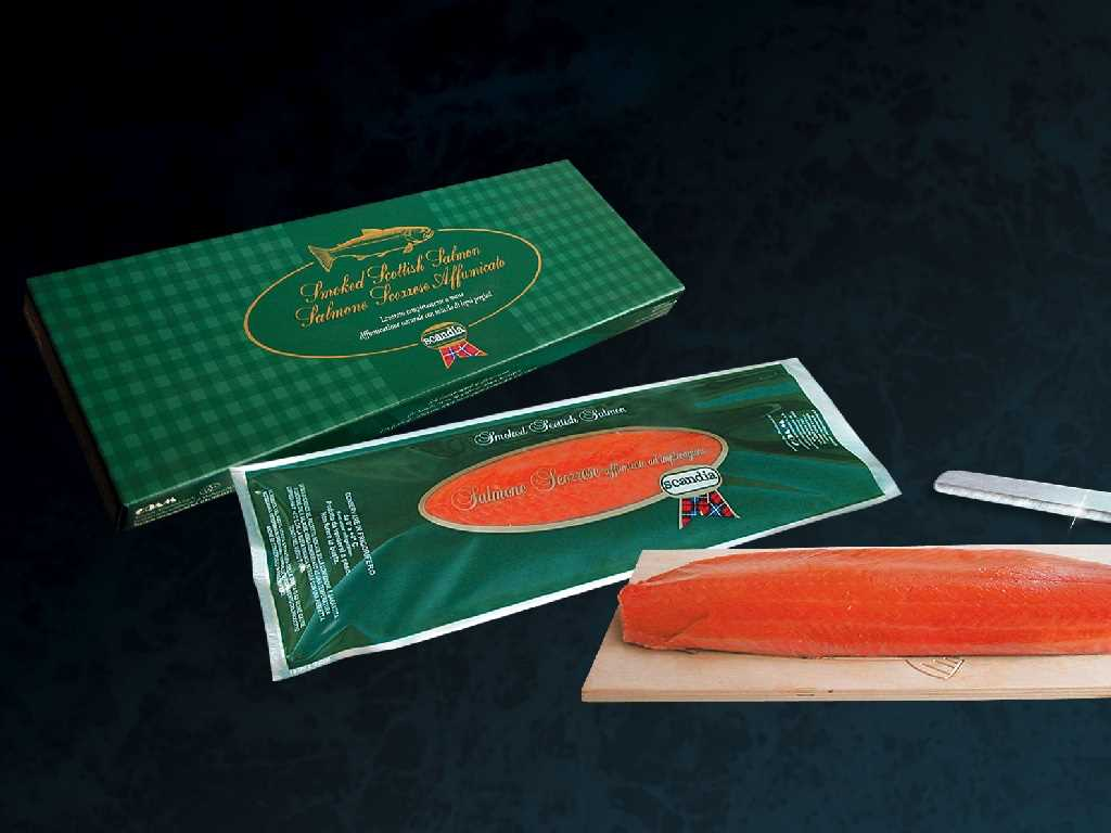 Salmone Scozzese affumicato - Banda intera Small/Super