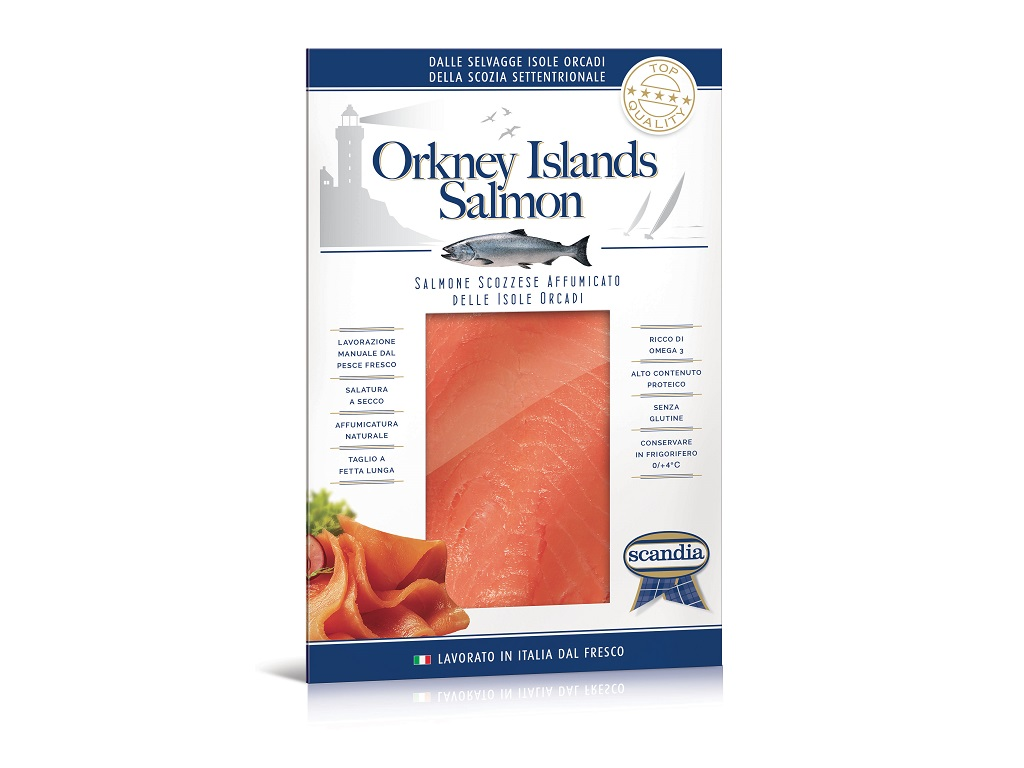 Orkney Islands Salmon - 200g